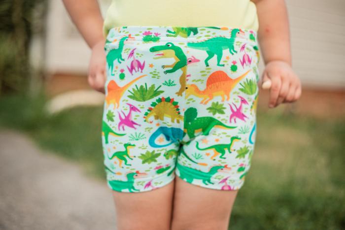 Dinosaur Bike shorts